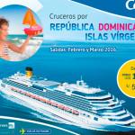 Crucero por Republica Dominica y todas las Islas Virgenes